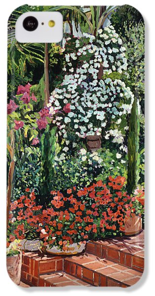 A Garden Approach IPhone 5c Case by David Lloyd Glover
