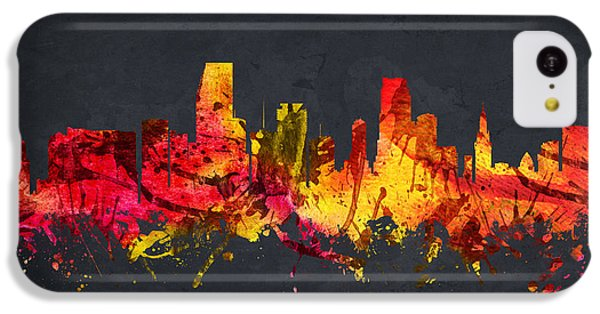 Miami Cityscape 07 IPhone 5c Case by Aged Pixel