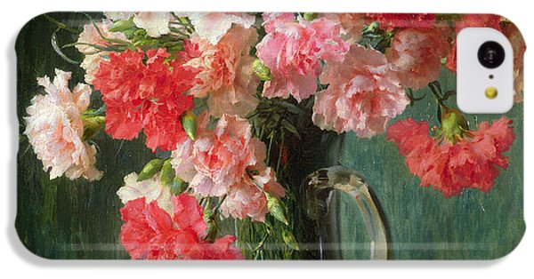 Still Life Of Carnations   IPhone 5c Case by Emile Vernon