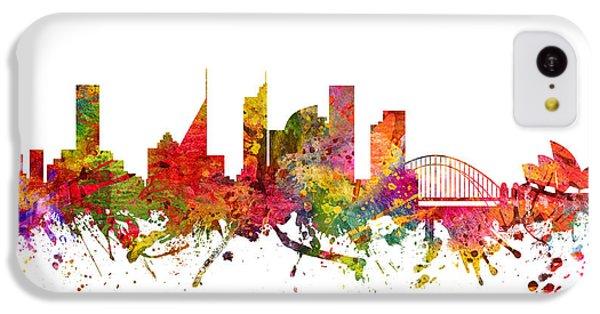 Sydney Australia Cityscape 08 IPhone 5c Case by Aged Pixel