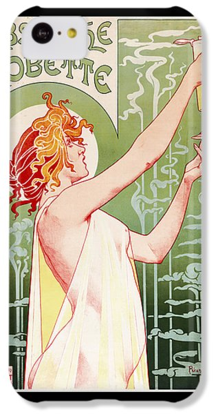 Absinthe Robette IPhone 5c Case by Henri Privat-Livemont