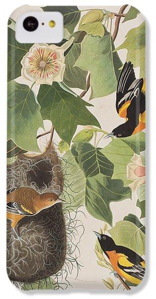 Baltimore Oriole IPhone 5c Case by John James Audubon