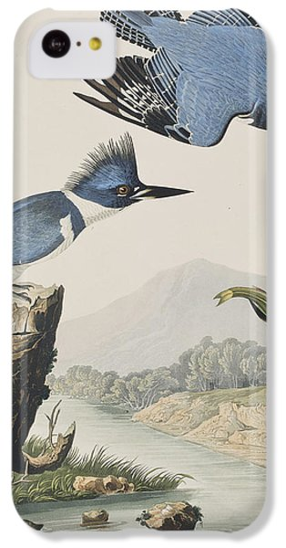 Belted Kingfisher IPhone 5c Case by John James Audubon