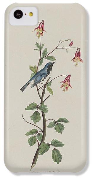 Black-throated Blue Warbler IPhone 5c Case by John James Audubon