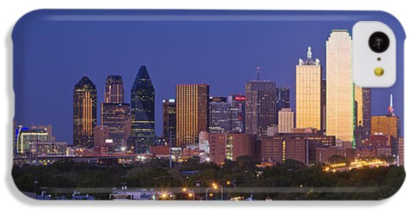 Downtown Dallas Skyline At Dusk IPhone 5c Case by Jeremy Woodhouse