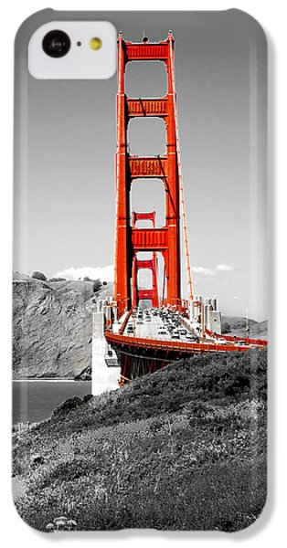 Golden Gate IPhone 5c Case by Greg Fortier