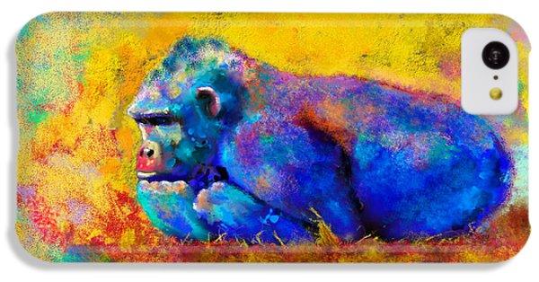 Gorilla Gorilla IPhone 5c Case by Betty LaRue