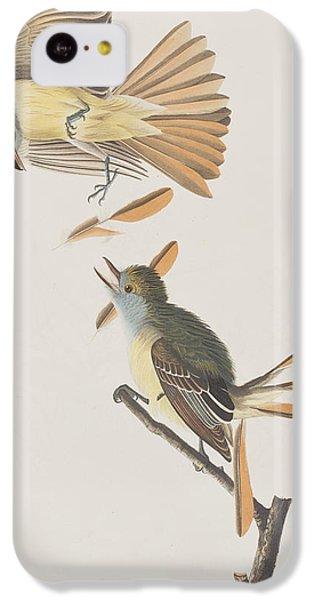 Great Crested Flycatcher IPhone 5c Case by John James Audubon