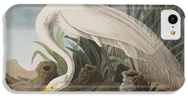 Great Egret IPhone 5c Case by John James Audubon