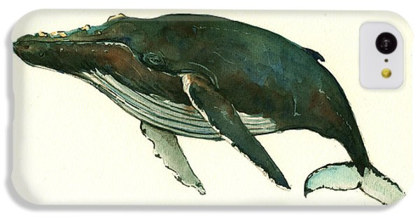 Humpback Whale  IPhone 5c Case by Juan  Bosco