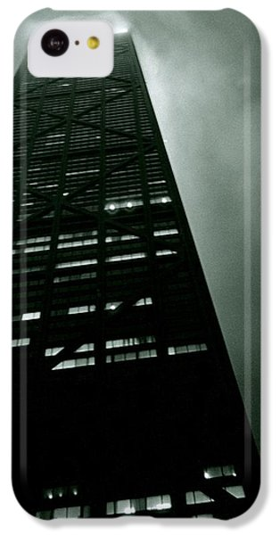John Hancock Building - Chicago Illinois IPhone 5c Case by Michelle Calkins