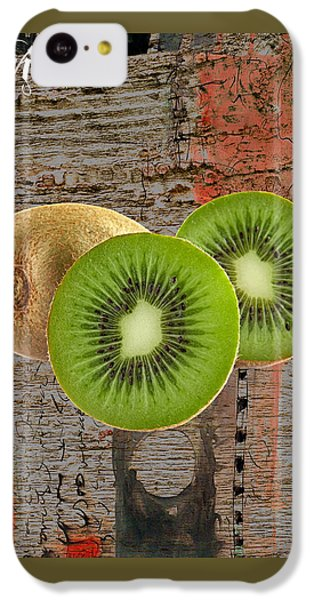 Kiwi Collection IPhone 5c Case by Marvin Blaine