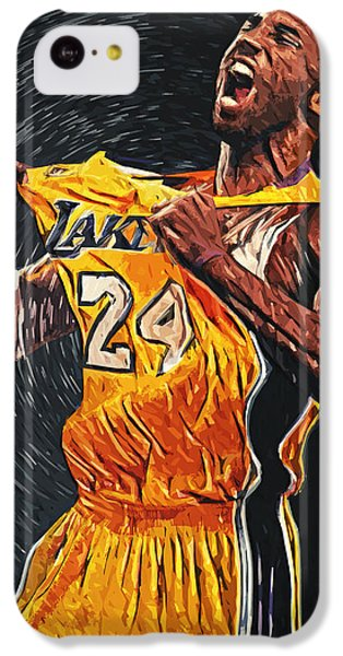 Kobe Bryant IPhone 5c Case by Taylan Apukovska