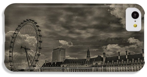 London Eye IPhone 5c Case by Martin Newman