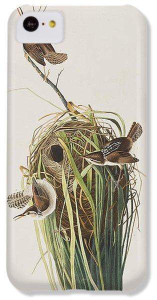 Marsh Wren  IPhone 5c Case by John James Audubon