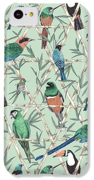 Menagerie IPhone 5c Case by Jacqueline Colley
