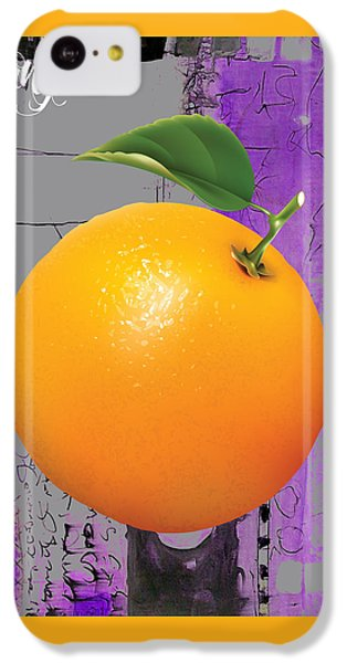 Orange Collection IPhone 5c Case by Marvin Blaine
