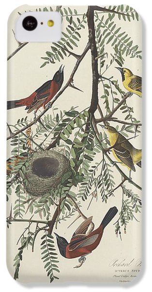 Orchard Oriole IPhone 5c Case by John James Audubon