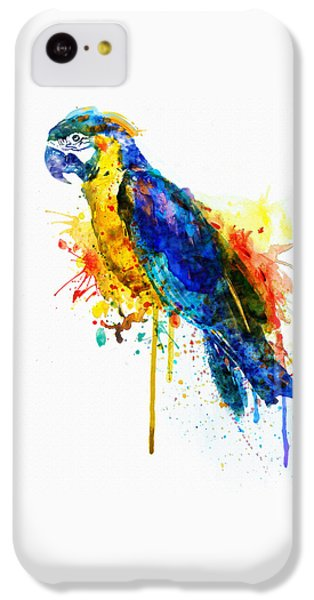 Parrot Watercolor  IPhone 5c Case by Marian Voicu
