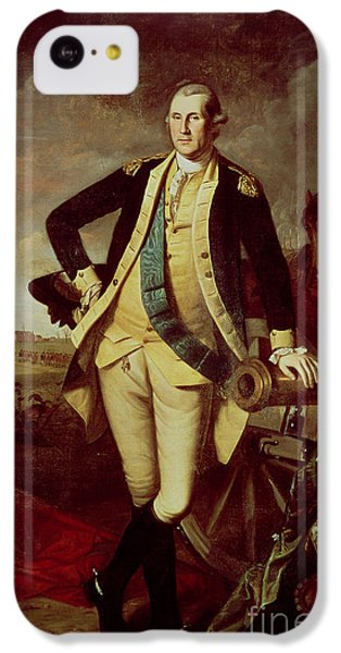 Portrait Of George Washington IPhone 5c Case by Charles Willson Peale