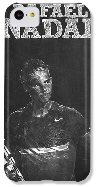 Rafael Nadal IPhone 5c Case by Semih Yurdabak