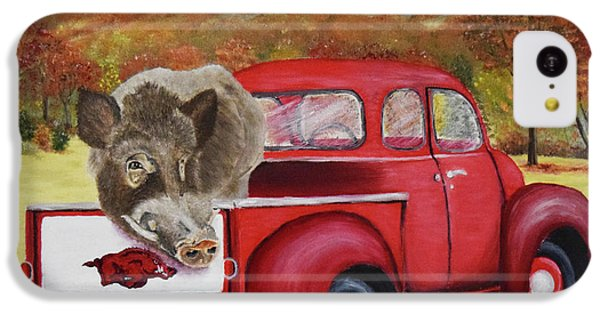 Ridin' With Razorbacks 2 IPhone 5c Case by Belinda Nagy