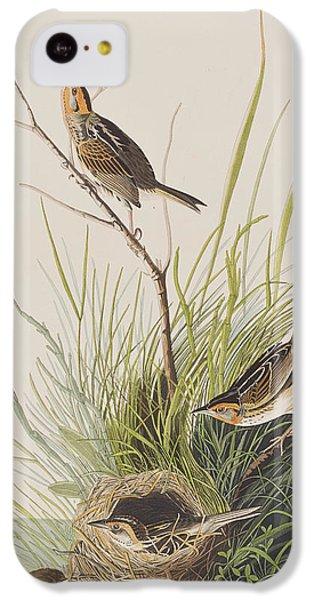 Sharp Tailed Finch IPhone 5c Case by John James Audubon