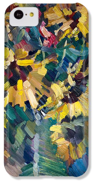 Sunflowers IPhone 5c Case by Nikolay Malafeev