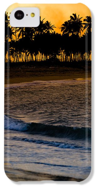 Sunset At The Beach IPhone 5c Case by Sebastian Musial