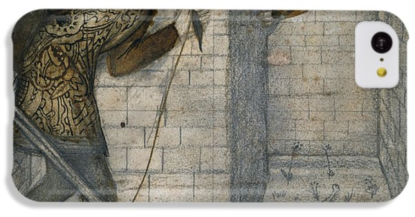 Theseus And The Minotaur In The Labyrinth IPhone 5c Case by Edward Burne-Jones