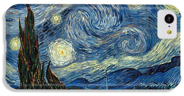 Van Gogh Starry Night IPhone 5c Case by Granger