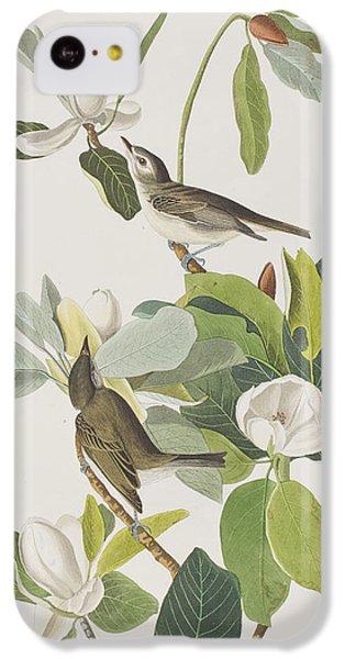 Warbling Flycatcher IPhone 5c Case by John James Audubon