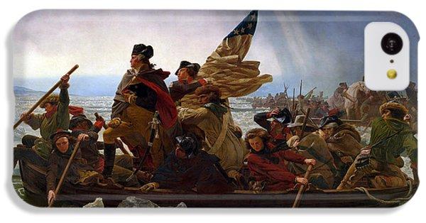Washington Crossing The Delaware IPhone 5c Case by Emanuel Leutze