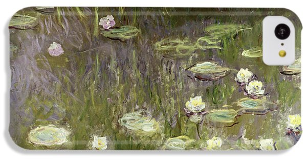 Waterlilies At Midday IPhone 5c Case by Claude Monet