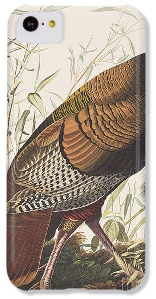 Wild Turkey IPhone 5c Case by John James Audubon