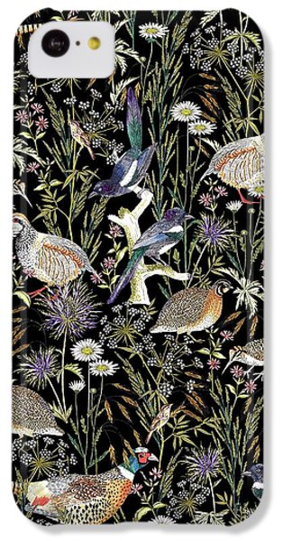 Woodland Edge Birds IPhone 5c Case by Jacqueline Colley