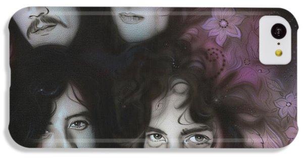 Led Zeppelin - ' Zeppelin ' IPhone 5c Case by Christian Chapman Art