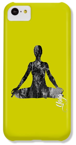 Yoga Collection IPhone 5c Case by Marvin Blaine