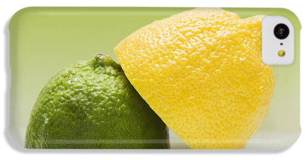 12 Organic Lemon And 12 Lime IPhone 5c Case by Marlene Ford