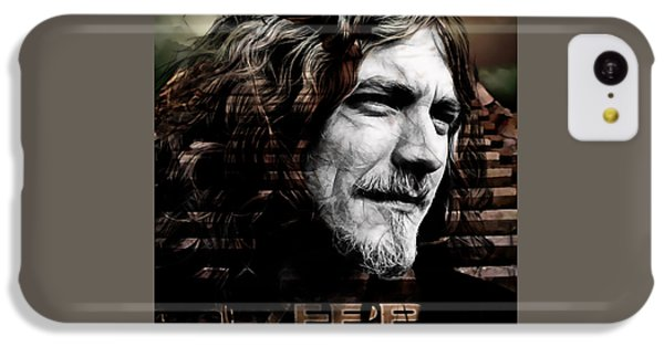 Robert Plant Collection IPhone 5c Case by Marvin Blaine