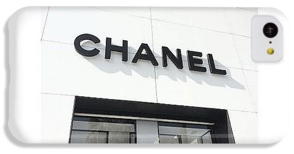 Chanel iPhone 5C Cases - Instagram Photo iPhone 5C Case by Michelle Jung