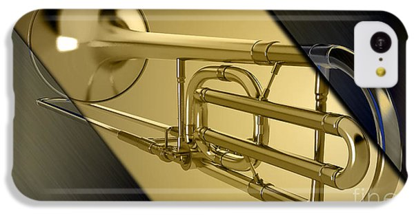 Trombone Collection IPhone 5c Case by Marvin Blaine