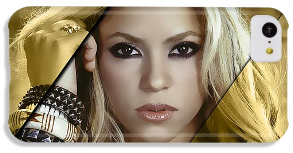 Shakira Collection IPhone 5c Case by Marvin Blaine