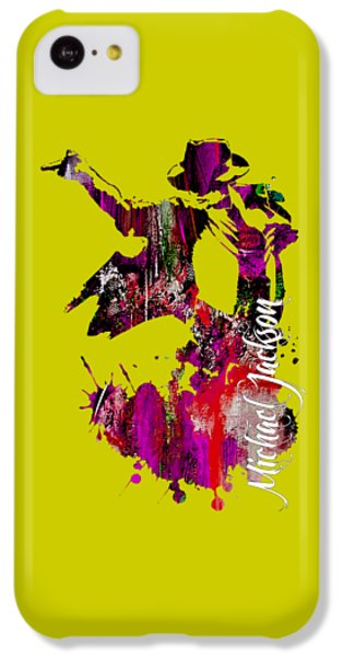 Michael Jackson Collection IPhone 5c Case by Marvin Blaine