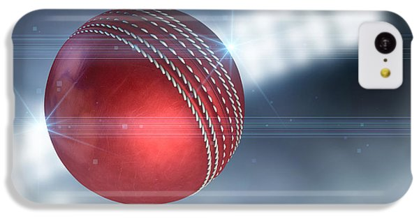 Ball Flying Through The Air IPhone 5c Case by Allan Swart