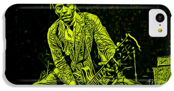 Chuck Berry Collection IPhone 5c Case by Marvin Blaine