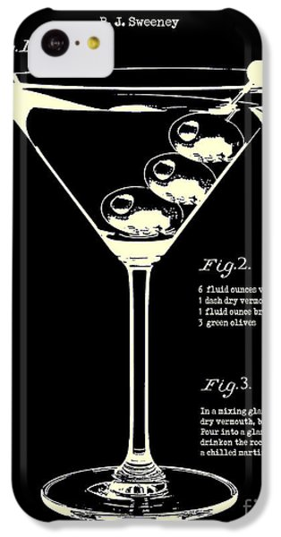 1897 Dirty Martini Patent IPhone 5c Case by Jon Neidert