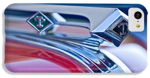 1949 Diamond T Truck Hood Ornament 3 IPhone 5c Case by Jill Reger
