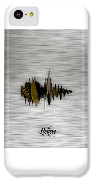 Believe Recorded Soundwave Collection IPhone 5c Case by Marvin Blaine