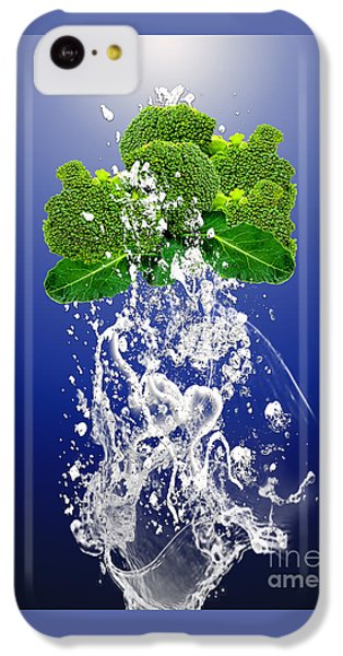 Broccoli Splash IPhone 5c Case by Marvin Blaine